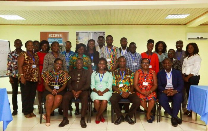 Participants that attended the SDG 7 workshop in Ghana