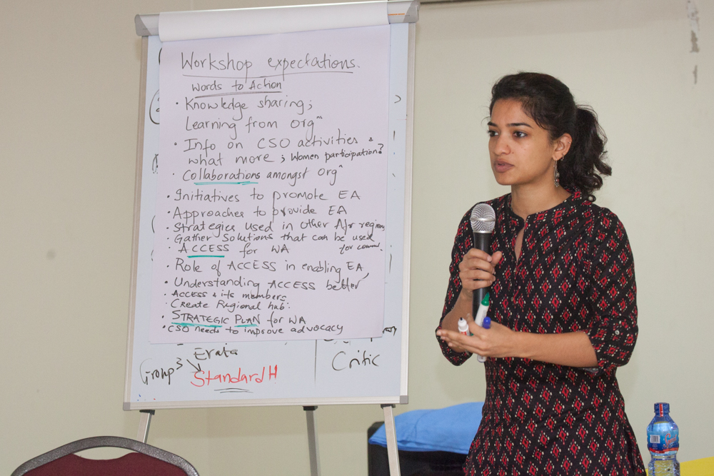 Former ACCESS Coordinator, Surabhi Rajagopal