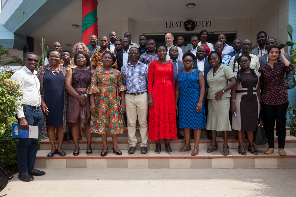 Group Photo - during the West Africa Regional Workshop on Energy Access in Accra, Ghana 2