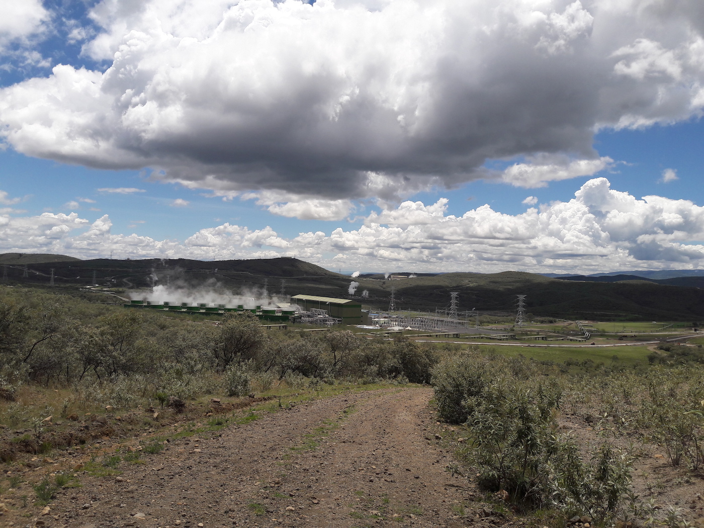 The Olkaria Geothermal Power Project