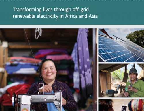 Pioneering Power: Transforming lives through off-grid renewable electricity in Africa and Asia
