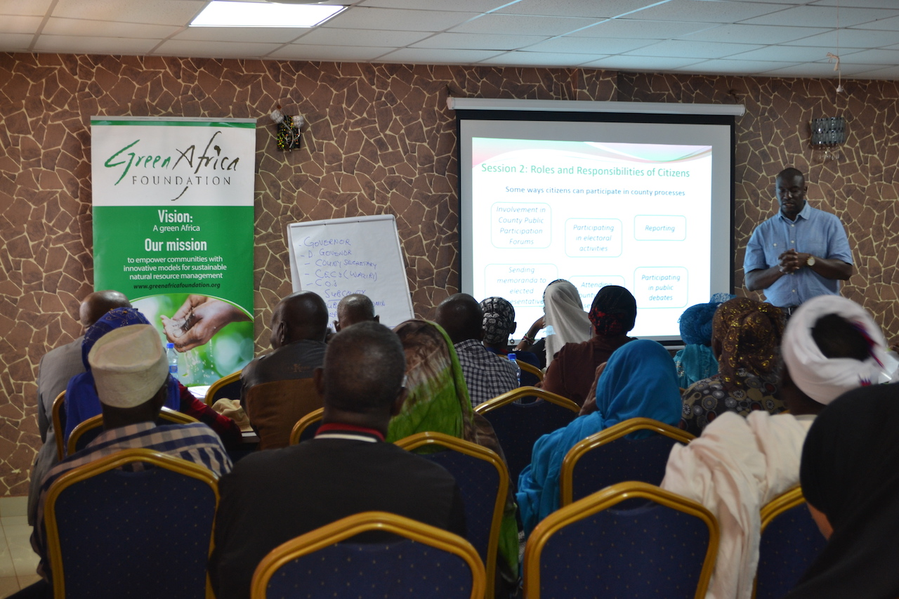 GAF ToT Training: Photo Credits: Green Africa Foundation (ACCESS Member)