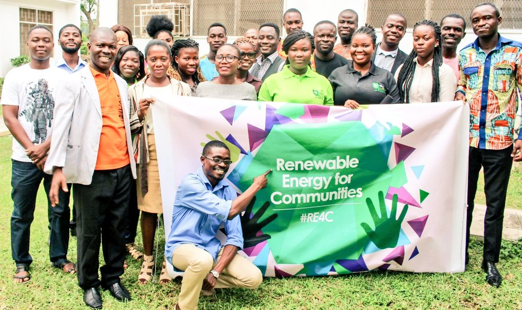 Renewable energy champions in Ghana