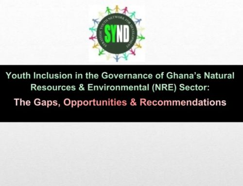 Youth Inclusion in the governance of Ghana's Natural Resources and Environmental (NRE) Sector
