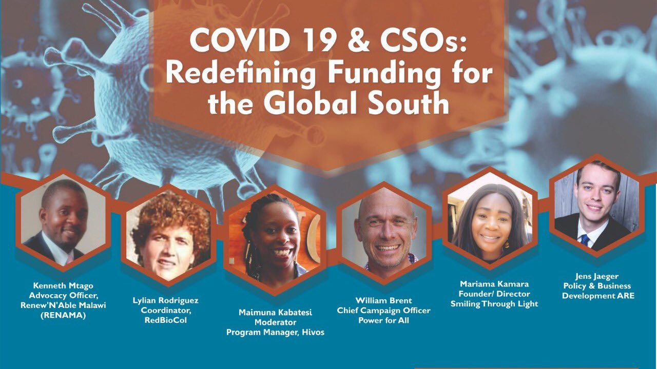 COVID-19 & CSOS: Redefining Funding for the Global South