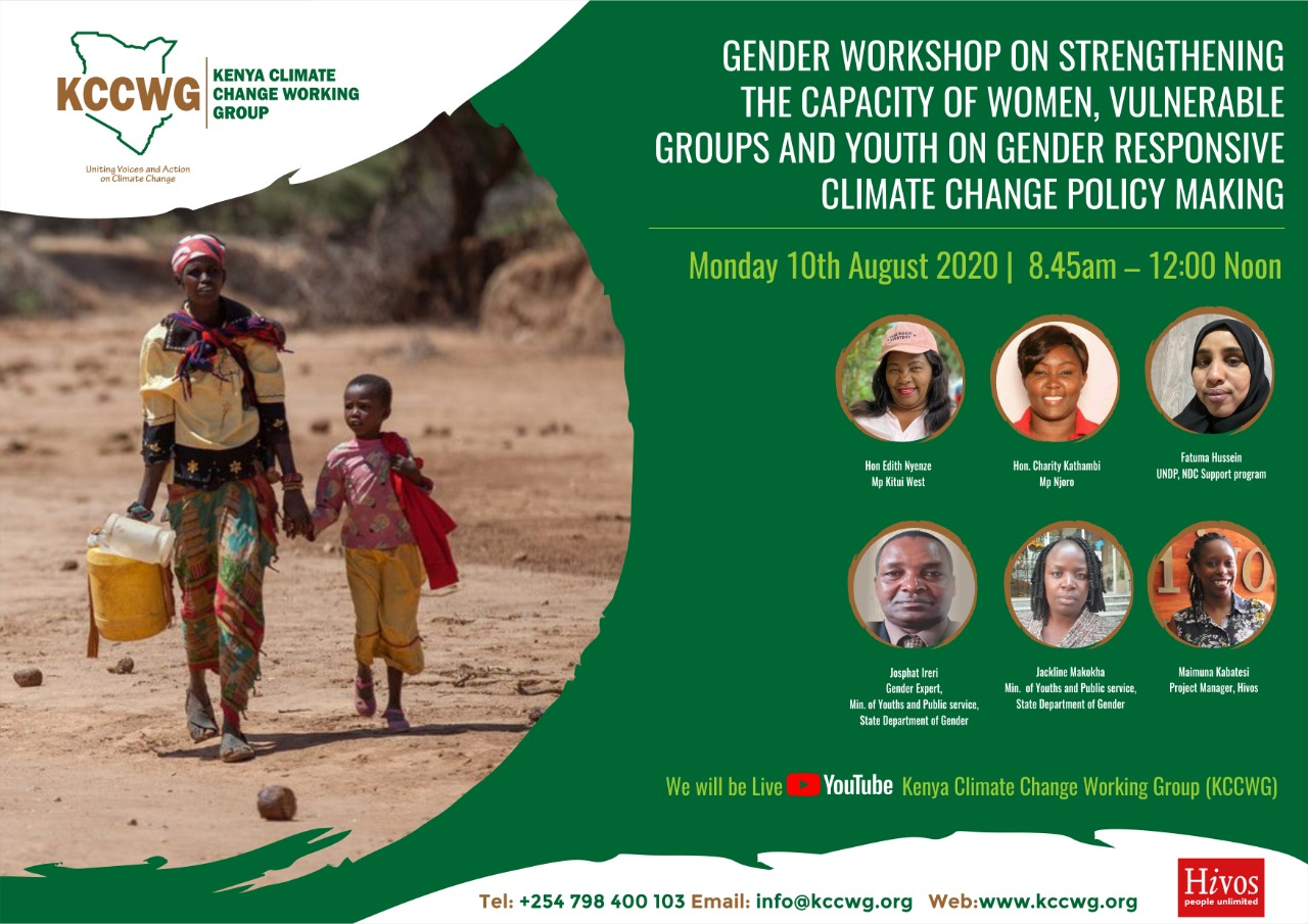 Gender Workshop on Strengthening the Capacity on Gender Responsive Climate Change Policy Making