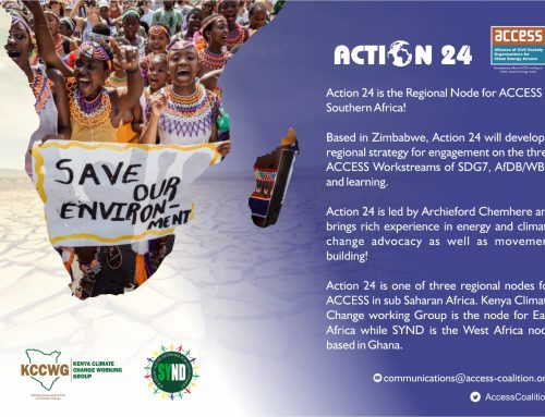 Action 24 is the Regional Node for Access in South Africa