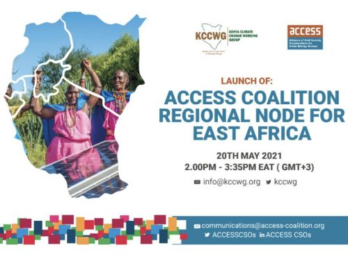 Press Release: ACCESS Coalition launches its Regional Node for East Africa
